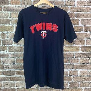 Minnesota Twins MLB Mens T-Shirt Size Large Blue